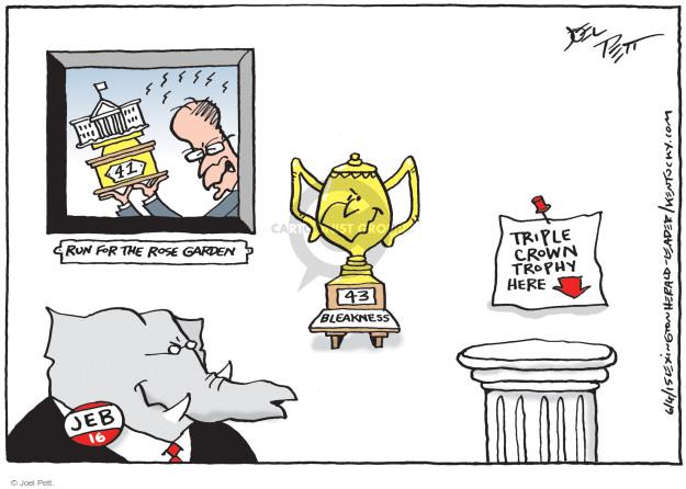 Joel Pett  Joel Pett's Editorial Cartoons 2015-06-04 political family