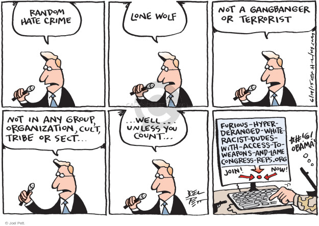 Joel Pett  Joel Pett's Editorial Cartoons 2015-06-19 count