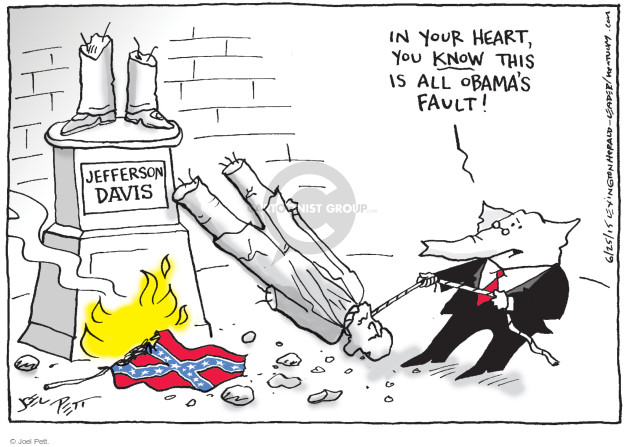 Joel Pett  Joel Pett's Editorial Cartoons 2015-06-25 American History