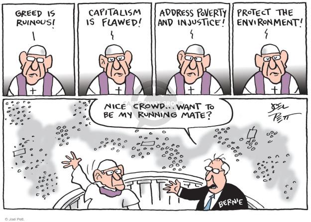Cartoonist Joel Pett  Joel Pett's Editorial Cartoons 2015-07-09 socialist