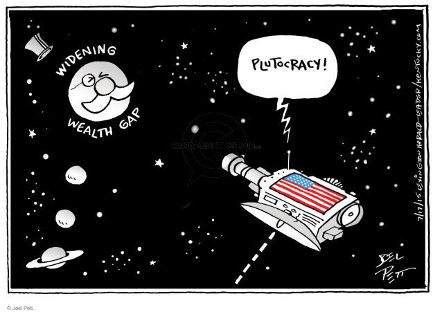Cartoonist Joel Pett  Joel Pett's Editorial Cartoons 2015-07-17 inequality