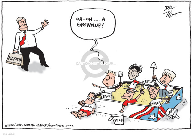Joel Pett  Joel Pett's Editorial Cartoons 2015-07-26 Rand Paul