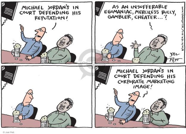 Cartoonist Joel Pett  Joel Pett's Editorial Cartoons 2015-08-20 political advertising