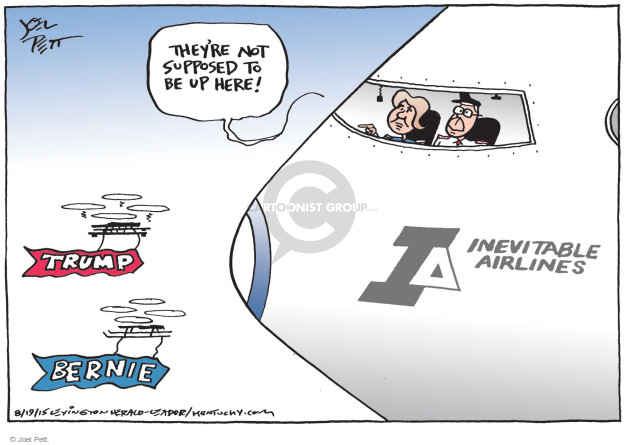 Cartoonist Joel Pett  Joel Pett's Editorial Cartoons 2015-08-19 state