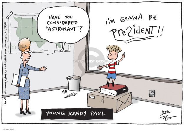 Joel Pett  Joel Pett's Editorial Cartoons 2015-08-21 Rand Paul
