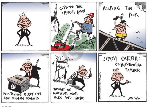 Cartoonist Joel Pett  Joel Pett's Editorial Cartoons 2015-08-21 nuclear