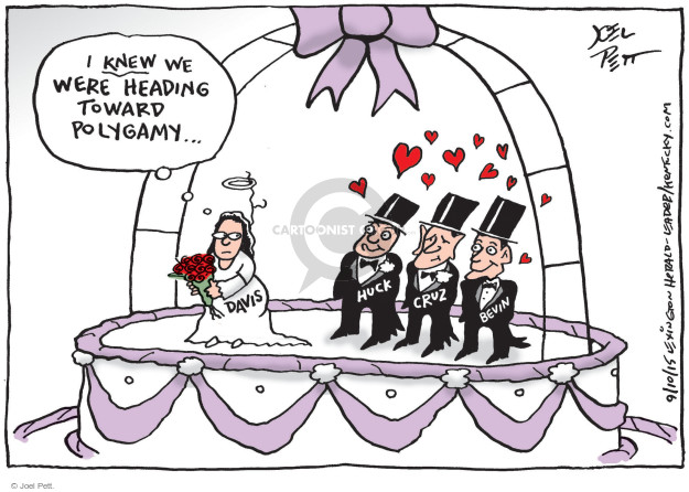 Cartoonist Joel Pett  Joel Pett's Editorial Cartoons 2015-09-10 homosexual