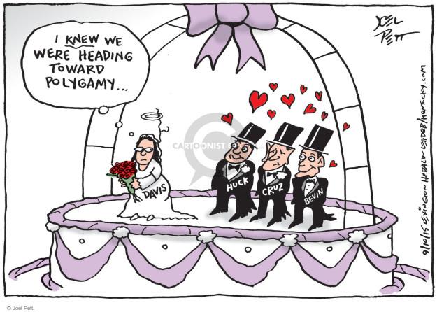 Cartoonist Joel Pett  Joel Pett's Editorial Cartoons 2015-09-10 gay