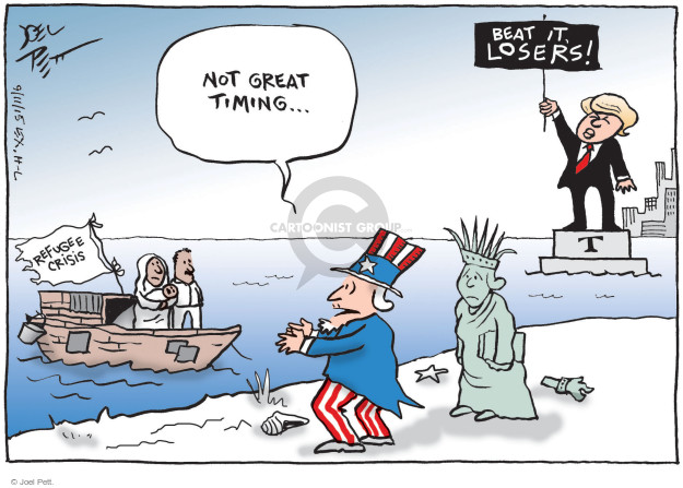 Cartoonist Joel Pett  Joel Pett's Editorial Cartoons 2015-09-11 middle