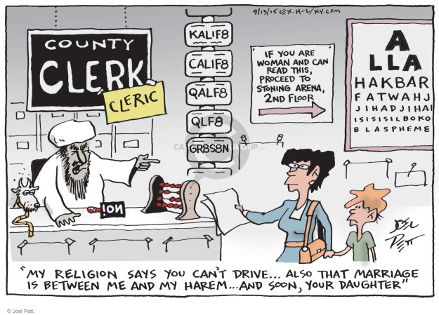 Cartoonist Joel Pett  Joel Pett's Editorial Cartoons 2015-09-13 traditional