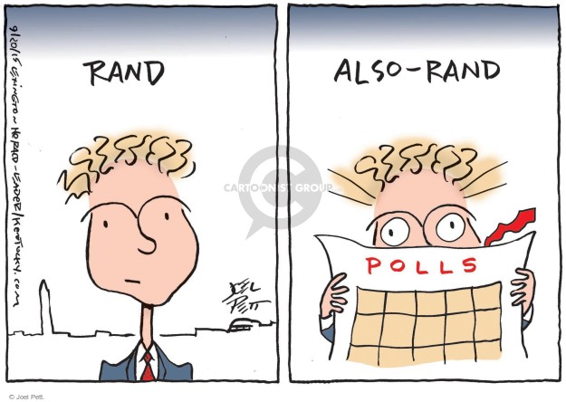 Joel Pett  Joel Pett's Editorial Cartoons 2015-09-20 Rand Paul