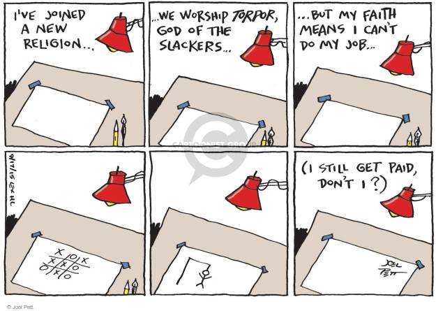 Joel Pett  Joel Pett's Editorial Cartoons 2015-09-17 worship