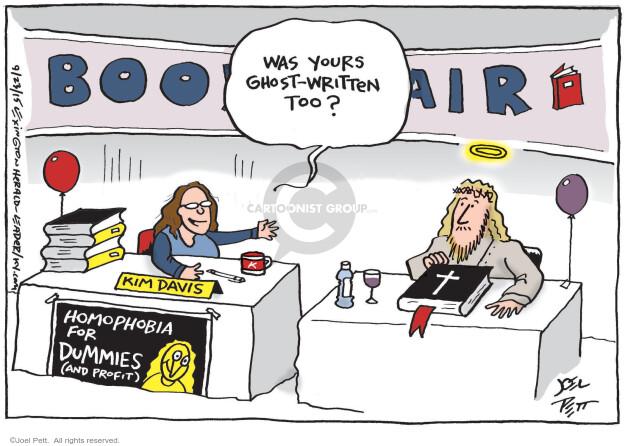 Cartoonist Joel Pett  Joel Pett's Editorial Cartoons 2015-09-23 gay