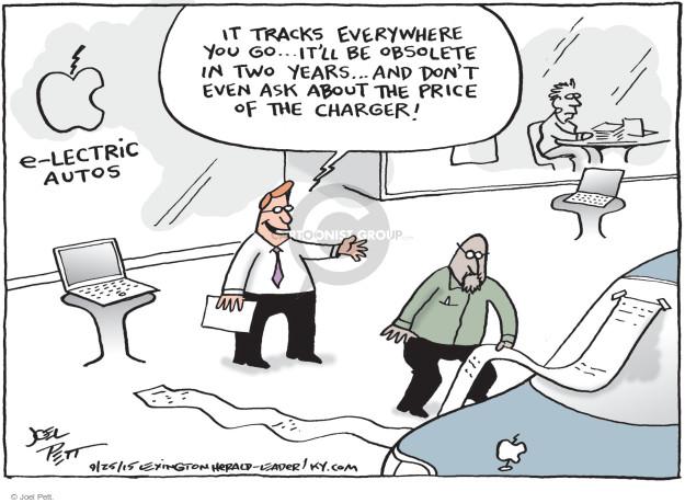 Joel Pett  Joel Pett's Editorial Cartoons 2015-09-25 tech