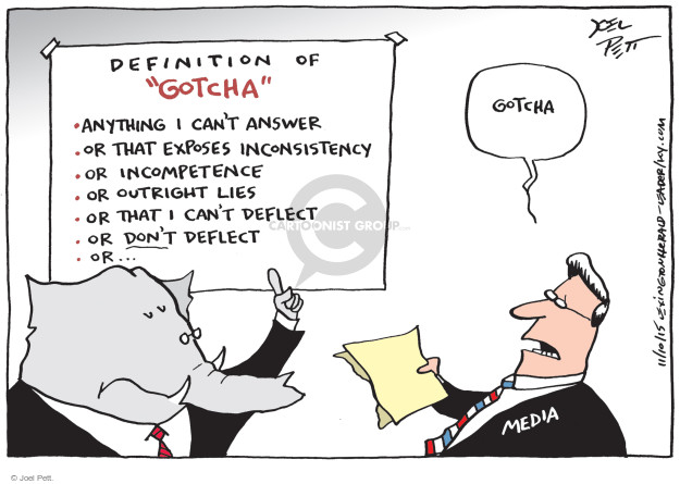 Joel Pett  Joel Pett's Editorial Cartoons 2015-11-10 republican politician