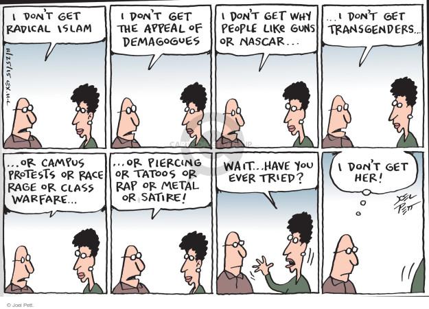 Cartoonist Joel Pett  Joel Pett's Editorial Cartoons 2015-11-25 gun rights