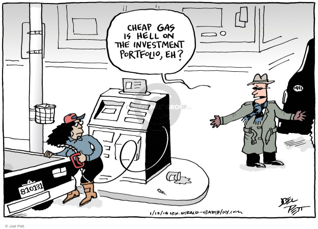 Joel Pett  Joel Pett's Editorial Cartoons 2016-01-12 economy