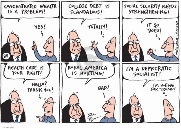 Joel Pett  Joel Pett's Editorial Cartoons 2016-01-17 issue policy