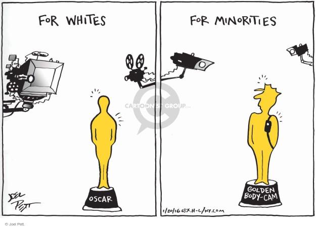 Cartoonist Joel Pett  Joel Pett's Editorial Cartoons 2016-01-20 minority