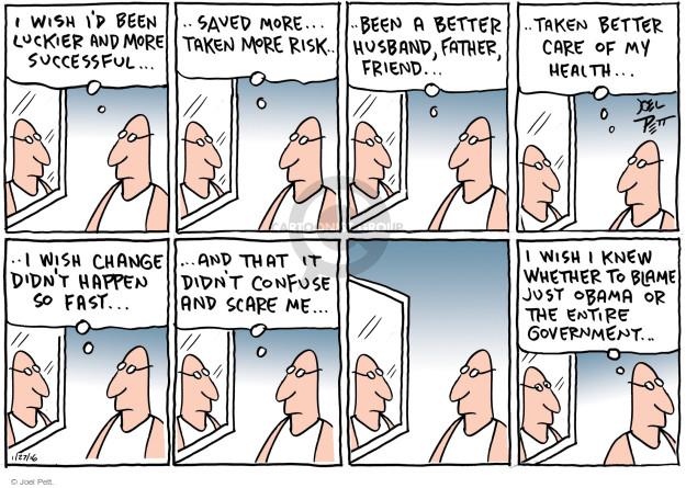Joel Pett  Joel Pett's Editorial Cartoons 2016-01-27 lifestyle change