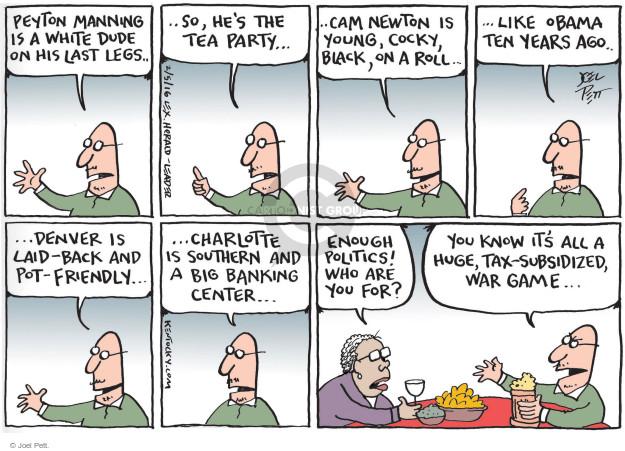 Cartoonist Joel Pett  Joel Pett's Editorial Cartoons 2016-02-05 bank