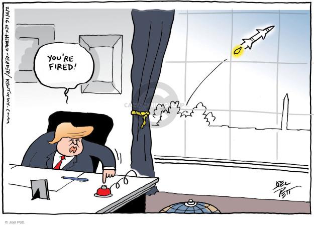 Cartoonist Joel Pett  Joel Pett's Editorial Cartoons 2016-02-09 White House