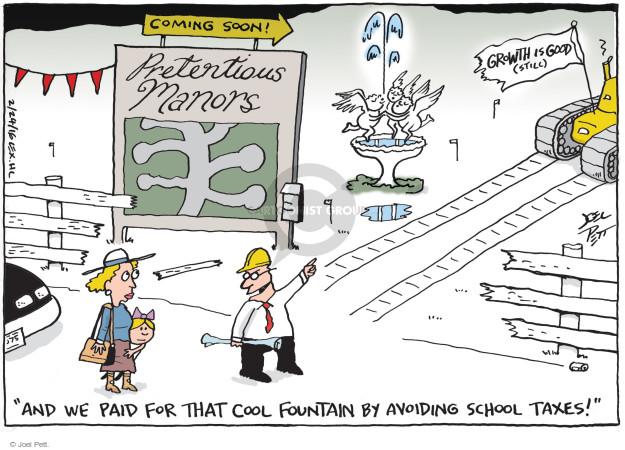 Joel Pett  Joel Pett's Editorial Cartoons 2016-02-24 tax payment