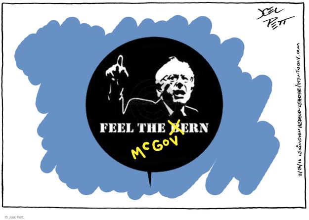 Joel Pett  Joel Pett's Editorial Cartoons 2016-02-26 Bernie Sanders