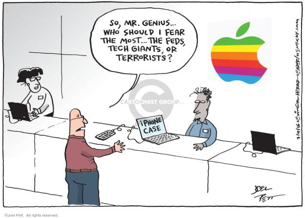 Cartoonist Joel Pett  Joel Pett's Editorial Cartoons 2016-03-04 case