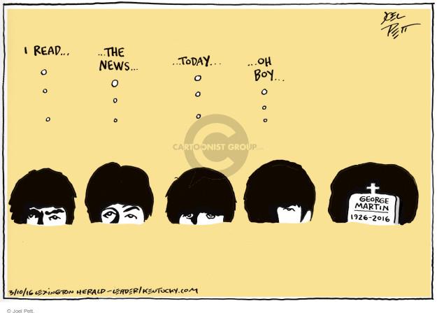 Joel Pett  Joel Pett's Editorial Cartoons 2016-03-10 Paul