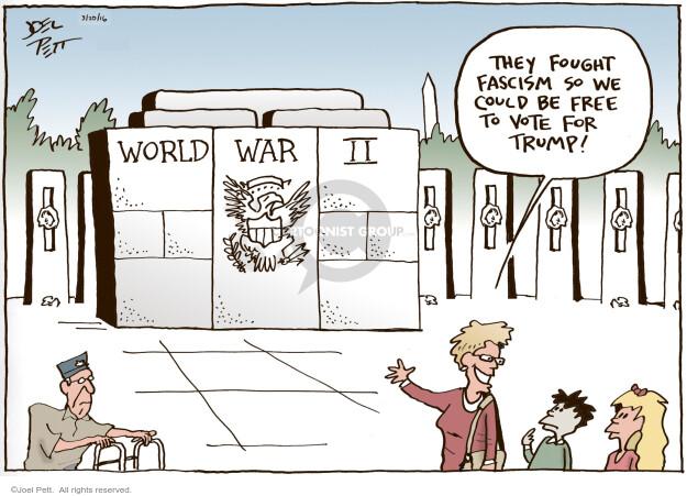 Joel Pett  Joel Pett's Editorial Cartoons 2016-03-20 soldier