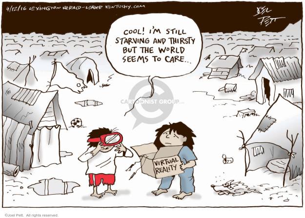 Joel Pett  Joel Pett's Editorial Cartoons 2016-04-12 reality