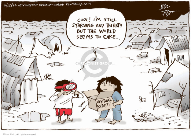 Joel Pett  Joel Pett's Editorial Cartoons 2016-04-12 immigration