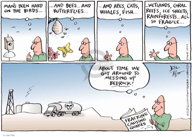 Joel Pett  Joel Pett's Editorial Cartoons 2016-04-22 environment