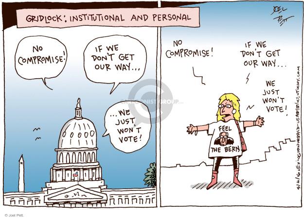Joel Pett  Joel Pett's Editorial Cartoons 2016-05-04 opposition