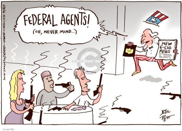 Cartoonist Joel Pett  Joel Pett's Editorial Cartoons 2016-05-08 gun safety