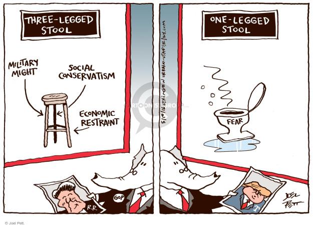 Joel Pett  Joel Pett's Editorial Cartoons 2016-05-10 issue policy