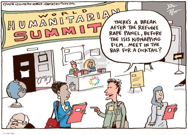 Joel Pett  Joel Pett's Editorial Cartoons 2016-05-24 human rights