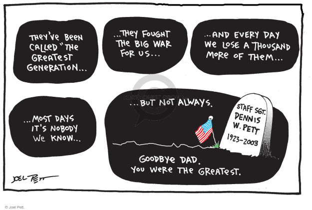 Joel Pett  Joel Pett's Editorial Cartoons 2016-05-25 1920s