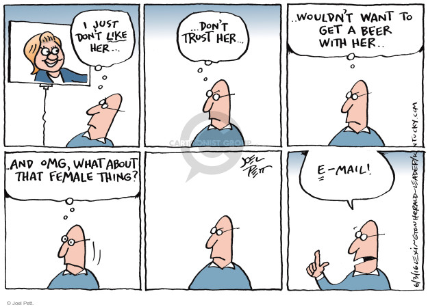 Cartoonist Joel Pett  Joel Pett's Editorial Cartoons 2016-06-03 equality