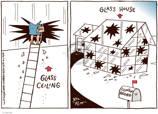 Cartoonist Joel Pett  Joel Pett's Editorial Cartoons 2016-06-09 equality