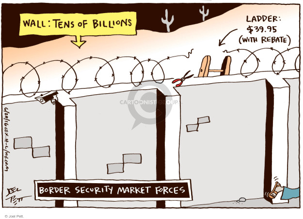 Joel Pett  Joel Pett's Editorial Cartoons 2016-06-24 presidential security