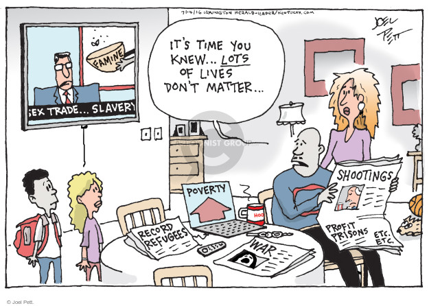 Joel Pett  Joel Pett's Editorial Cartoons 2016-07-14 record