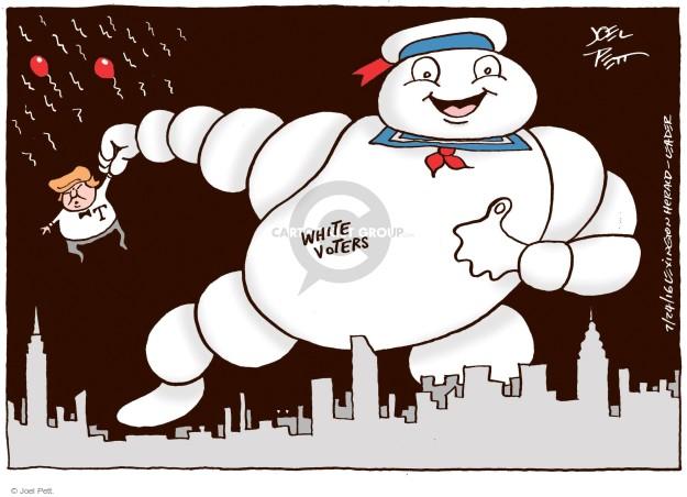 Joel Pett  Joel Pett's Editorial Cartoons 2016-07-24 racism