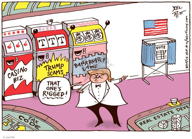 Joel Pett  Joel Pett's Editorial Cartoons 2016-08-25 $$$