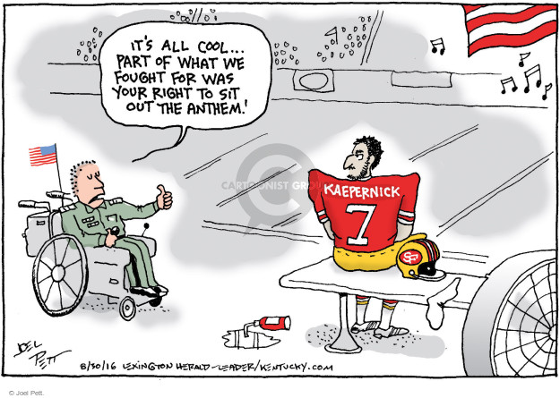 Joel Pett  Joel Pett's Editorial Cartoons 2016-08-30 United States Military