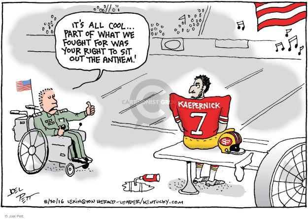 Joel Pett  Joel Pett's Editorial Cartoons 2016-08-30 freedom of speech