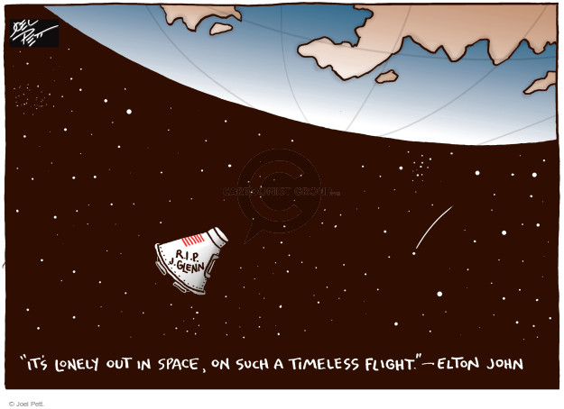Joel Pett  Joel Pett's Editorial Cartoons 2016-12-11 exploration