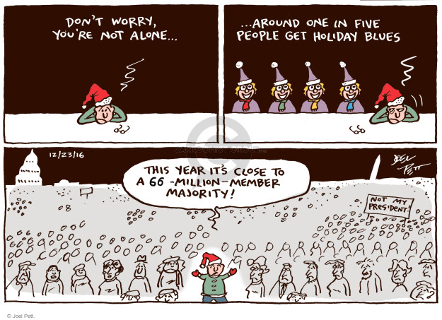 Joel Pett  Joel Pett's Editorial Cartoons 2016-12-23 worry