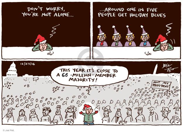 Cartoonist Joel Pett  Joel Pett's Editorial Cartoons 2016-12-23 politics